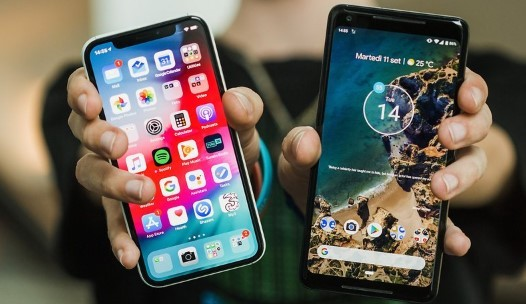 iOS 13 vs Android 10, lebih bagus mana