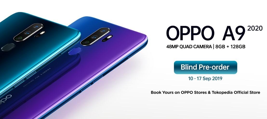 pre order Oppo A9 2020