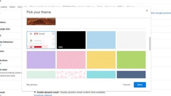 Cara mengaktifkan mode gelap di gmail