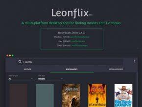 Aplikasi Leonflix for iPhone dan Android