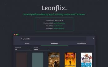 Aplikasi Leonflix for iPhone dan Android