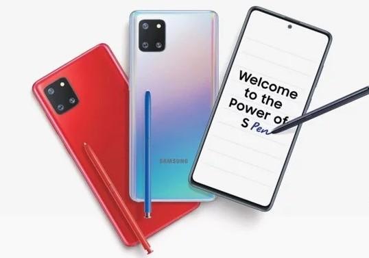 Samsung Note 10 Lite Harga