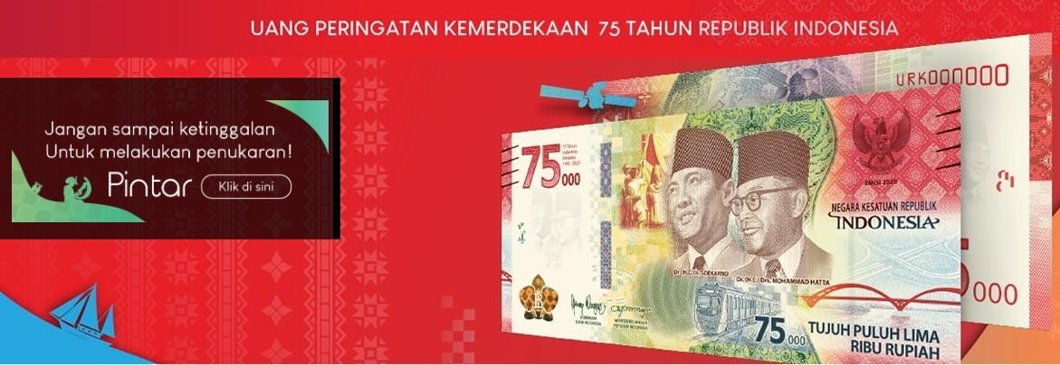 Aplikasi Pintar Bank Indonesia untuk Pesan Uang Baru 75 Ribu