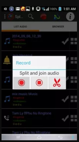 aplikasi pemotong dan penyambung audio